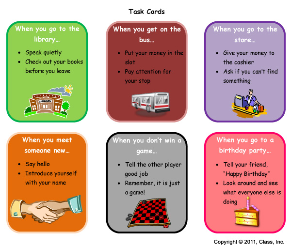 Task Cards